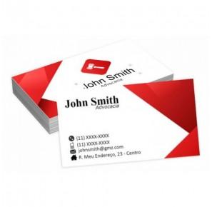 Cartão para Advogado - A1