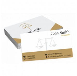 Cartão para Advogado - A2