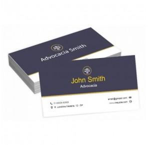 Cartão para Advogado - A3