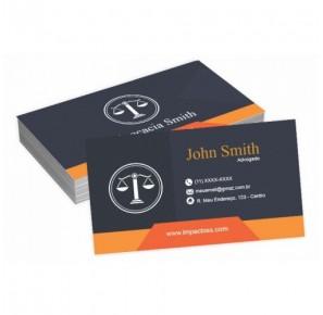 Cartão para Advogado - A4