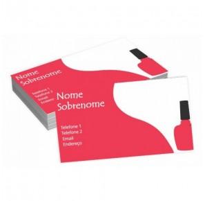 Cartão para Estética - B1